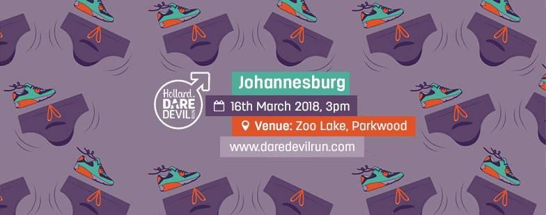 Hollard Daredevil Run Gauteng – 16 March  2018