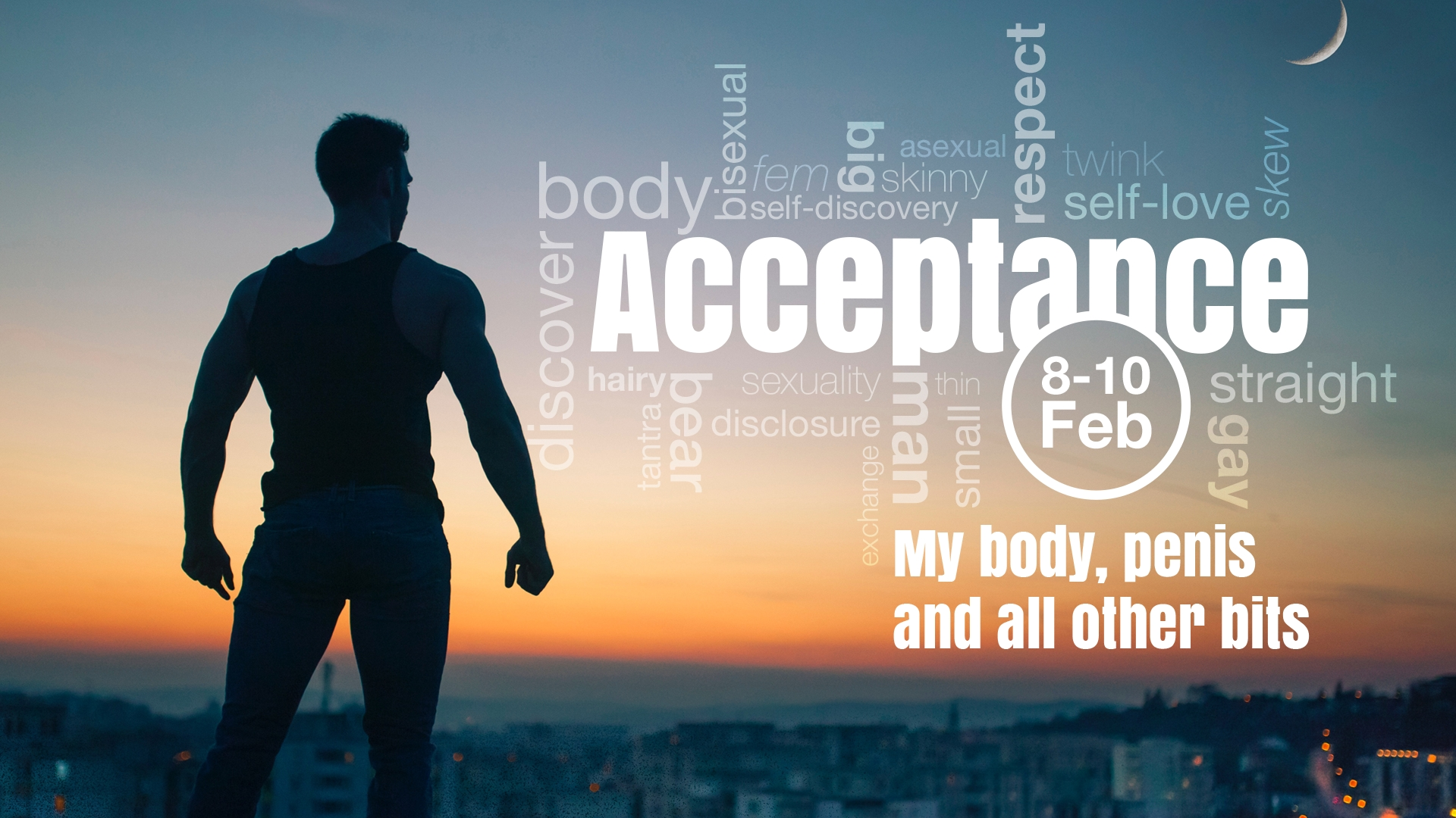 Acceptance: my body, penis and all other bits -  Men's Retreat - Magaliesburg